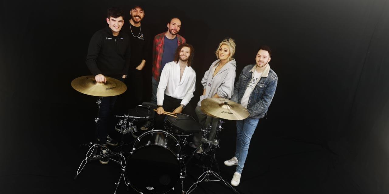 band in big browndoors studio leeds