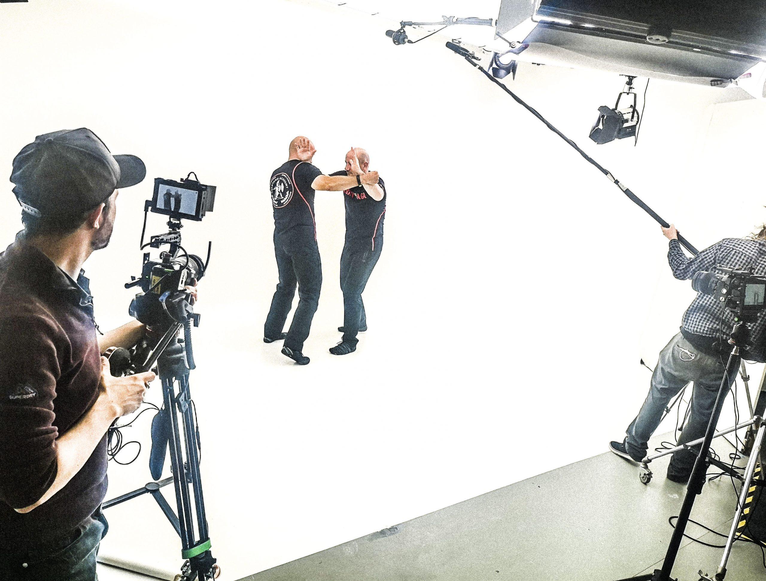 krav maga trainers in big browndoors studio leeds